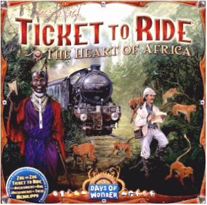 Ticket to Ride: Map Collection Volume 3 - Heart of Africa